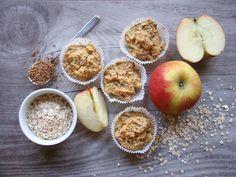 Diese Muffins sind ein leckeres und gesundes breifreies Babyfrühstück, welches die Kleinen lieben. Lässt sich auch super am Abend zuvor vorbereitet.