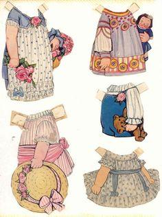 vestidos de papel   vintage