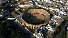 """Plaza de toros de Osuna. Rodaje de la 6T de """"Juego de Tronos"""""""