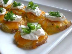 Potato Nachos - Superbowl food!