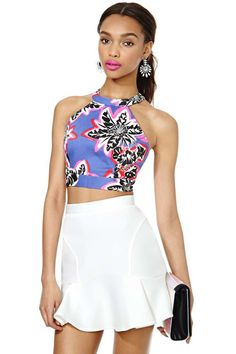 Nasty Gal Electric Lazy Land Top   Shop Newly Added at Nasty Gal