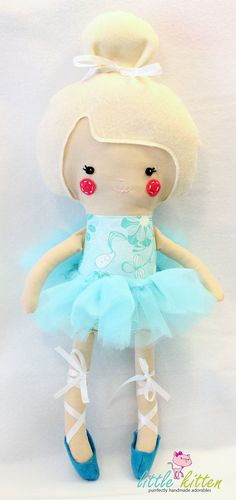 Ballerina Doll Plush - Kyra - Made To