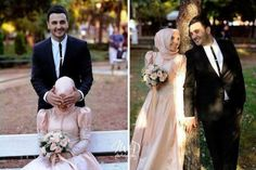 I love watching pictures of Halal Love / Cute Muslim Romantic Couples Photos holding hands and being happy. Cute Muslim Couples, Romantic Couples, Cute Couples, Wedding Poses, Wedding Couples, Married Couples, Wedding Trends, Wedding Styles, Wedding Ideas