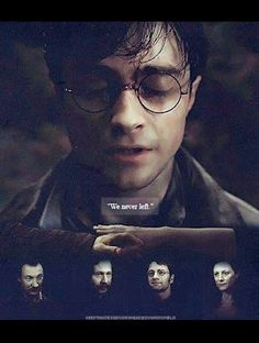 You'll stay with me  Until the very end.    Harry Potter  Lily Evans  James Potter  Sirius Black  Remus Lupin
