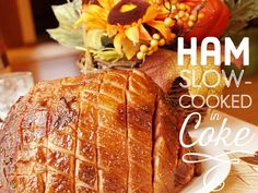slow cooker christmas recipes Jamie Olivers Ham Joint Gammon in Coke Slow Cooker Recipe Slow Cooking, Cooking Ham In Crockpot, Slow Cooker Ham Recipes, Gammon Recipes, Cooking Recipes, Ham In Slow Cooker, Clean Recipes, Slower Cooker, Basic Cooking