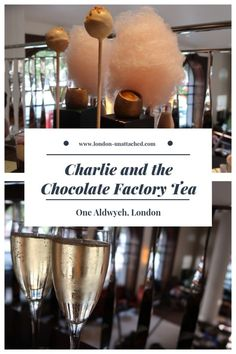 London Afternoon Tea - One Aldwych Charlie and the Chocolate Factory Afternoon Tea Charlie Chocolate Factory, Afternoon Tea London, World Recipes, Tea Recipes, London Food, London Hotels, London Life, Alcoholic Drinks, Champagne