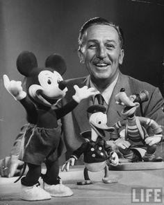 Walt Disney, 1953, photograph by Alfred Eisenstaedt