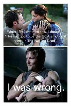 I didn't think that, but the scene where Daryl calls her lil' asskicker is just amasing