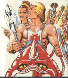 He-Man and Teela   He-Man