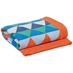 www.mobauk.com Team your Moba with a brightly coloured blanket. This Diamond blank would look great with the Dove Grey, Linen and Cornflower Moba.