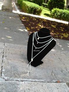 Collar Choker con perlas de ShivaArte en Etsy
