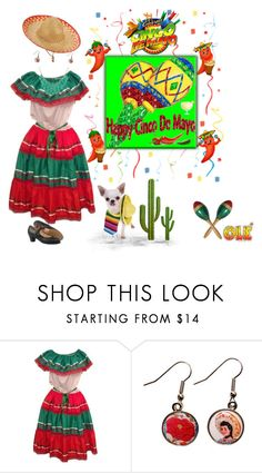 """""""Happy Cinco de Mayo ❤️"""" by califorina-girl ❤ liked on Polyvore featuring Sourpuss and Alexa Starr"""