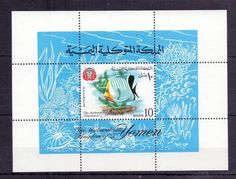 // Yemen - MNH - Stamps - Nature - Animals - Fish