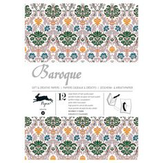 Baroque Wrap Book, 9,95€, now featured on Fab.