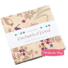 Enchanted Pond Charm Pack Holly Taylor for Moda Fabrics - Fat Quarter Shop