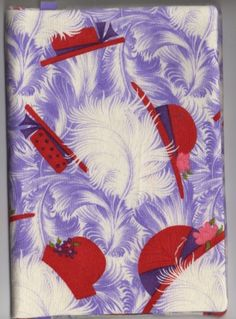 GREAT gift for yourself or any reader on your gift list Our beautiful fabric covers slip right over your standard wide x Tall size PAPERBACK book Lightly padded to have Jenny Joseph, Red Hat Ladies, Wearing Purple, Red Hat Society, Purple Things, String Of Pearls, Pink Hat, Red Hats, Fabric Covered