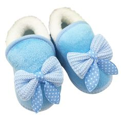 Tongyouyuan White Mary Jane Shoes Kids Newborn Baby Girl Bow Shoes Infant Toddler Polka Dot Prewalker Bebe Baby Girl Footwear Warm And Windproof First Walkers