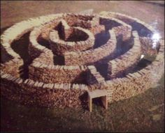 Creative Wood Stacking ... This one blew my mind!