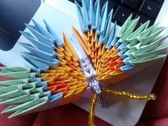 Mariposa origami 3D >3