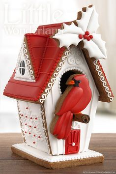 Tomorrow is Gingerbread House Day! So in case you want to try your hand at Gingerbread Greatness. Christmas Gingerbread House, Gingerbread Man, Gingerbread Cookies, Gingerbread House Designs, Christmas Goodies, Christmas Time, Xmas, Italian Christmas, Holiday Treats