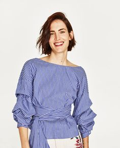 STRIPED BLOUSE-NEW IN-WOMAN | ZARA France