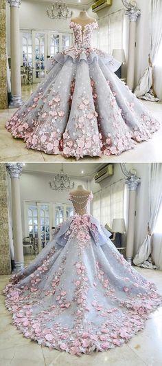 Resultado de imagen para vestidos de 15 años 2017