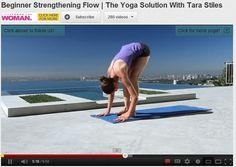 Beginner's Strengthening Yoga Flow with Tara Stiles
