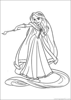 disney rapunzel tangled coloring pages | free coloring pages for ... - Tangled Coloring Pages Printable