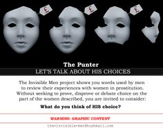 The Invisible Men Project aims to reveal what men who visit sex workers think about the women involved. Girl Thinking, Thinking Of You, Political Equality, Root Chakra Healing, Religion And Politics, Reproductive Rights, Man Projects, Invisible Man, Gender Roles