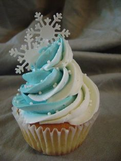 Snowflake Cupcakes More