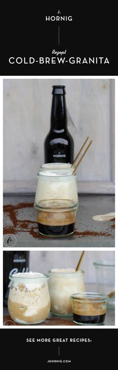 Mit Cold Brew kannst du nicht nur Cocktails zaubern, sondern auch leckere Desserts. Marlene von Fräulein Cupcake hat eine erfrischende Nachspeise kreiert. Wie du ein Cold-Brew-Granita zubereiten kannst, steht in diesem Beitrag. Diy Pinterest, Granita, Cupcakes, Cold Brew, Creative Ideas, Brewing, Cocktails, Inspired, Coffee