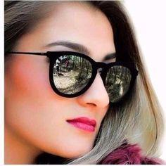 modelos de oculos de sol Mais Rayban Oculos, Óculos De Sol Feminino  Espelhado, Óculos b35e4a0ca4