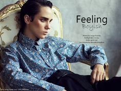 test WOW Berlin Mag Fashion Trends Boyish Fashion Editorial