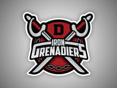 Iron grenadiers patch