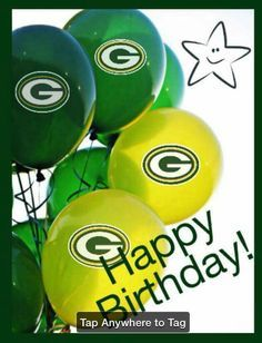 Happy Birthday Images, Happy Birthday Greetings, Birthday Pictures, Go Packers, Packers Football, Greenbay Packers, Football Memes, Football Pics, Football Season
