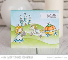 Once Upon a Time Stamp Set and Die-namics, Snow Drifts Die-namics, Blueprints 29 Die-namics - Anna Kossakovskaya #mftstamps