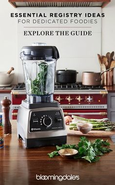 Searching for the perfect registry gift for dedicated foodies in your life? Bloomingdale's Little Registry Guide is brimming with inspiration - like this Vitamix high-performance blender- for every newlywed couple. Find or create your own registry at Bloomingdale's today.