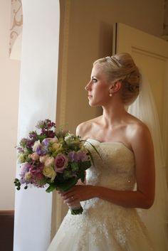 A Sneaky Peek at Laura & Alex's Stunning Singleton Lodge Wedding Lodge Wedding, Wedding Flowers, Wedding Dresses, Summer Garden, Flower Designs, Flower Arrangements, Bouquet, Pretty, Events