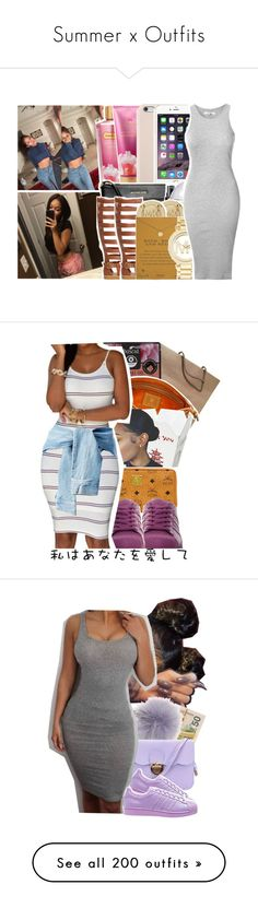 """""""Summer x Outfits"""" by versaceshawty ❤ liked on Polyvore featuring Victoria's Secret, Black Apple, MICHAEL Michael Kors, Qupid, MANGO, Michael Kors, Dogeared, Glamorous, Louis Vuitton and Boscia"""