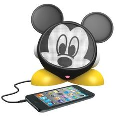 eKids Mickey Mouse Rechargeable Character Speaker, by iHome #MickeyMouse