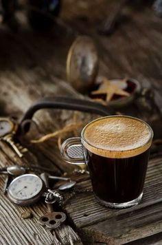 Rustic style coffee. Beautiful! ☕☕☕