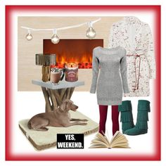 Cozy weekend by cloudburst612 on Polyvore featuring polyvore, fashion, style, Elizabeth and James, Minnetonka, Dot & Bo, Tempur, Safavieh, cozy and minnetonka