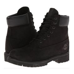 Black timberland boots ❤ liked on Polyvore featuring shoes, boots, kohl shoes, timberland footwear, black shoes, timberland shoes and kohl boots