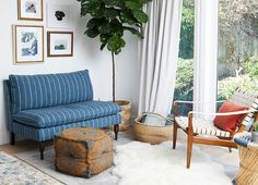 LIVING ROOM   Settee sitting area  by the fireplace?