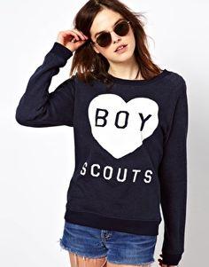 asos Zoe Karssen – Boy Scouts – Sweatshirt