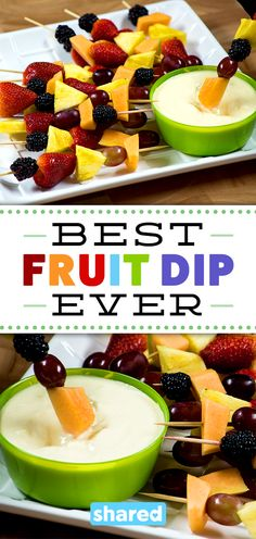 Best. Fruit Dip. Ever.