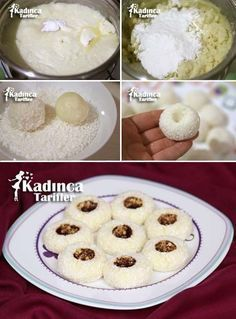 Oideas Delight Tuircis Sultan, Conas - Essential International Milis Recipes In Irish Turkish Delight, Cookie Recipes, Dessert Recipes, Turkish Sweets, Arabic Food, Turkish Recipes, Mets, Mediterranean Recipes, Herbs