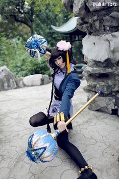 Ran Mao, Kuroshitsuji I like Ran Mao, she acts all delicate but when in actuality she can kick ass!
