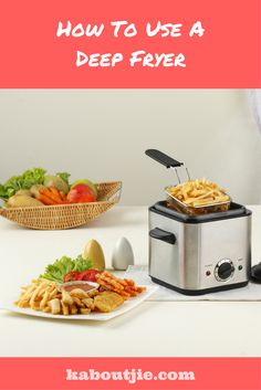 How To Use A Deep Fryer.  There are many deep fryers in the market, a majority of which look quite similar. They however may be packed with various functions that may cause a huge difference while deep frying.   #deepfryer #deepfry #deepfried