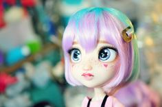 New doll repaint faces 50 Ideas Custom Monster High Dolls, Monster High Repaint, Custom Dolls, New Dolls, Ooak Dolls, Blythe Dolls, Doll Crafts, Diy Doll, Pretty Dolls